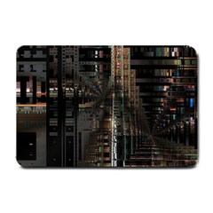 Blacktechnology Circuit Board Electronic Computer Small Doormat  by BangZart