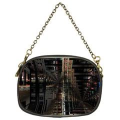 Blacktechnology Circuit Board Electronic Computer Chain Purses (one Side)