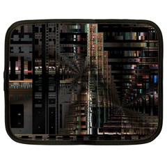 Blacktechnology Circuit Board Electronic Computer Netbook Case (xl)  by BangZart