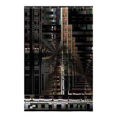 Blacktechnology Circuit Board Electronic Computer Shower Curtain 48  X 72  (small)  by BangZart