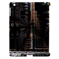 Blacktechnology Circuit Board Electronic Computer Apple Ipad 3/4 Hardshell Case (compatible With Smart Cover)