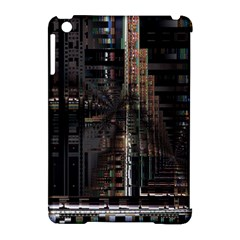 Blacktechnology Circuit Board Electronic Computer Apple Ipad Mini Hardshell Case (compatible With Smart Cover) by BangZart