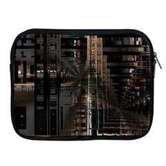 Blacktechnology Circuit Board Electronic Computer Apple Ipad 2/3/4 Zipper Cases