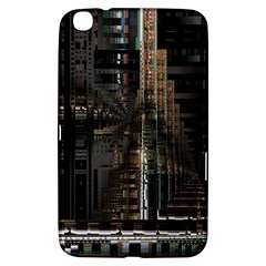 Blacktechnology Circuit Board Electronic Computer Samsung Galaxy Tab 3 (8 ) T3100 Hardshell Case  by BangZart