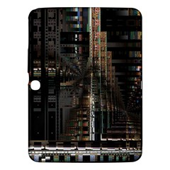 Blacktechnology Circuit Board Electronic Computer Samsung Galaxy Tab 3 (10 1 ) P5200 Hardshell Case  by BangZart