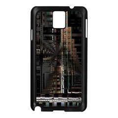 Blacktechnology Circuit Board Electronic Computer Samsung Galaxy Note 3 N9005 Case (black) by BangZart