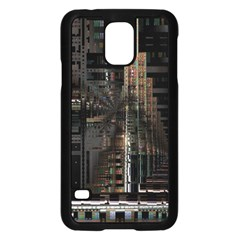 Blacktechnology Circuit Board Electronic Computer Samsung Galaxy S5 Case (black) by BangZart