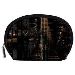 Blacktechnology Circuit Board Electronic Computer Accessory Pouches (large)  by BangZart