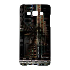 Blacktechnology Circuit Board Electronic Computer Samsung Galaxy A5 Hardshell Case  by BangZart