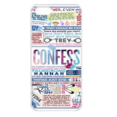 Book Collage Based On Confess Apple Iphone 5 Seamless Case (white)