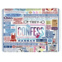 Book Collage Based On Confess Samsung Galaxy Tab 7  P1000 Flip Case by BangZart