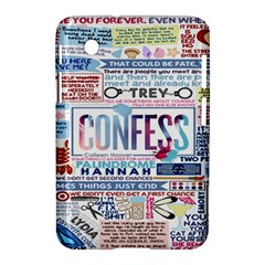 Book Collage Based On Confess Samsung Galaxy Tab 2 (7 ) P3100 Hardshell Case