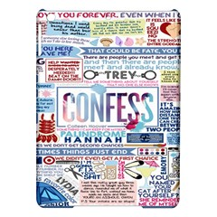 Book Collage Based On Confess Ipad Air Hardshell Cases by BangZart
