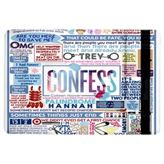 Book Collage Based On Confess Ipad Air 2 Flip