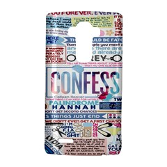 Book Collage Based On Confess Lg G4 Hardshell Case