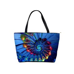 Top Peacock Feathers Shoulder Handbags by BangZart