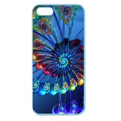 Top Peacock Feathers Apple Seamless Iphone 5 Case (color)