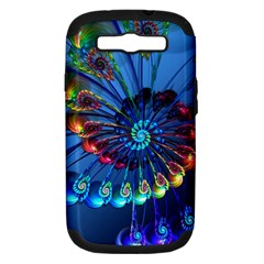 Top Peacock Feathers Samsung Galaxy S Iii Hardshell Case (pc+silicone)