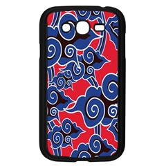 Batik Background Vector Samsung Galaxy Grand Duos I9082 Case (black)