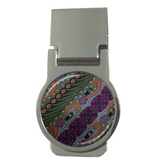 Batik Art Pattern  Money Clips (round)  by BangZart