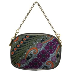 Batik Art Pattern  Chain Purses (two Sides)  by BangZart