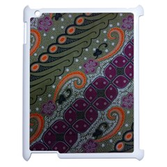 Batik Art Pattern  Apple Ipad 2 Case (white) by BangZart
