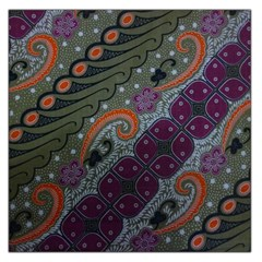 Batik Art Pattern  Large Satin Scarf (square)