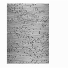Embossed Rose Pattern Large Garden Flag (two Sides)