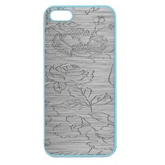 Embossed Rose Pattern Apple Seamless Iphone 5 Case (color)