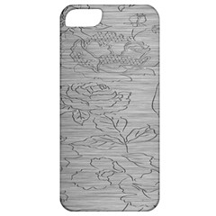 Embossed Rose Pattern Apple Iphone 5 Classic Hardshell Case by BangZart