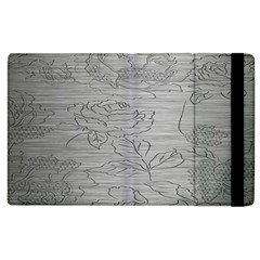 Embossed Rose Pattern Apple Ipad 3/4 Flip Case by BangZart