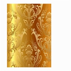 Golden Pattern Vintage Gradient Vector Small Garden Flag (two Sides)