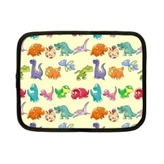 Group Of Funny Dinosaurs Graphic Netbook Case (small)