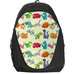 Group Of Funny Dinosaurs Graphic Backpack Bag