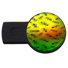 Insect Pattern Usb Flash Drive Round (2 Gb) by BangZart