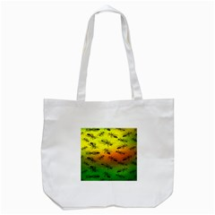 Insect Pattern Tote Bag (white) by BangZart