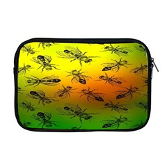 Insect Pattern Apple Macbook Pro 17  Zipper Case