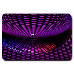 Glass Ball Texture Abstract Large Doormat