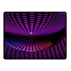 Glass Ball Texture Abstract Double Sided Fleece Blanket (small)