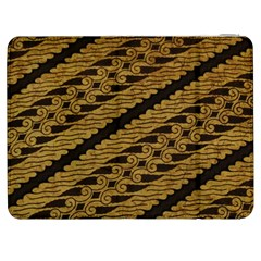 Traditional Art Indonesian Batik Samsung Galaxy Tab 7  P1000 Flip Case