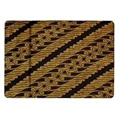 Traditional Art Indonesian Batik Samsung Galaxy Tab 10 1  P7500 Flip Case