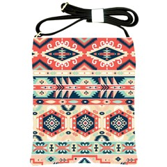 Aztec Pattern Shoulder Sling Bags by BangZart