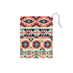 Aztec Pattern Drawstring Pouches (small)