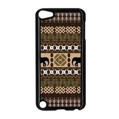 Elephant African Vector Pattern Apple Ipod Touch 5 Case (black) by BangZart