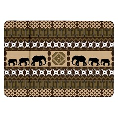 Elephant African Vector Pattern Samsung Galaxy Tab 8 9  P7300 Flip Case by BangZart