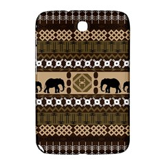 Elephant African Vector Pattern Samsung Galaxy Note 8 0 N5100 Hardshell Case