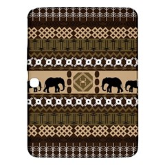 Elephant African Vector Pattern Samsung Galaxy Tab 3 (10 1 ) P5200 Hardshell Case  by BangZart