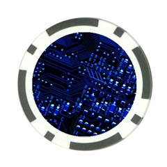 Blue Circuit Technology Image Poker Chip Card Guard (10 Pack)
