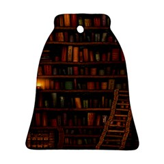 Books Library Ornament (bell)