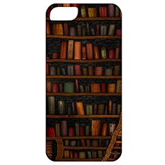 Books Library Apple Iphone 5 Classic Hardshell Case